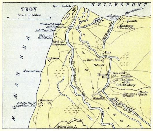 La regione di Troia